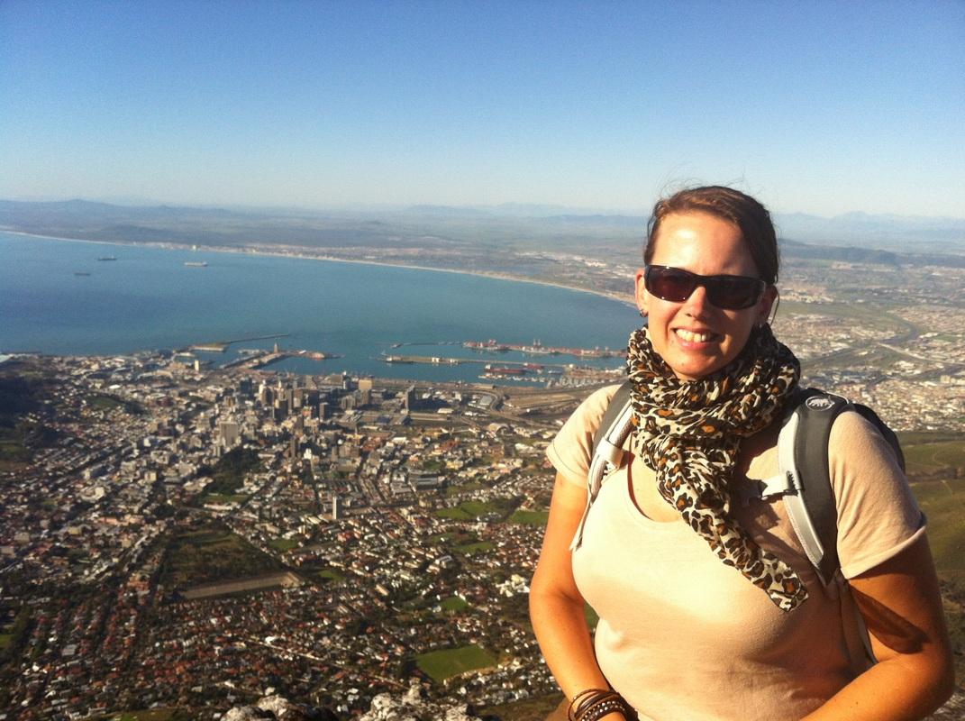 Auf dem Tafelberg. Windstill und sonnig!
