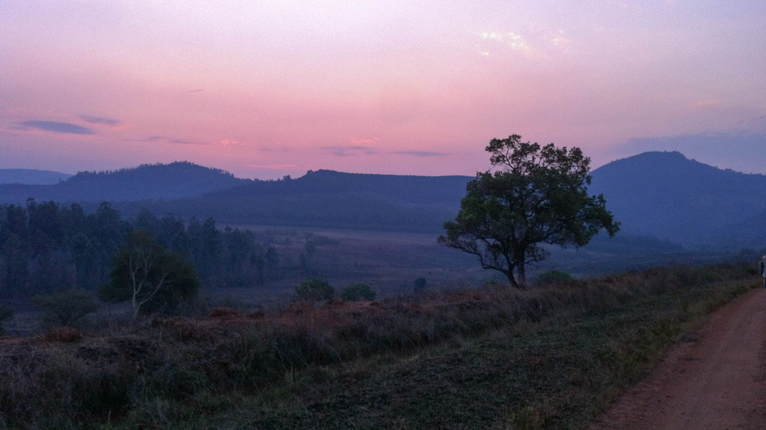 Sonnenuntergang Swasiland