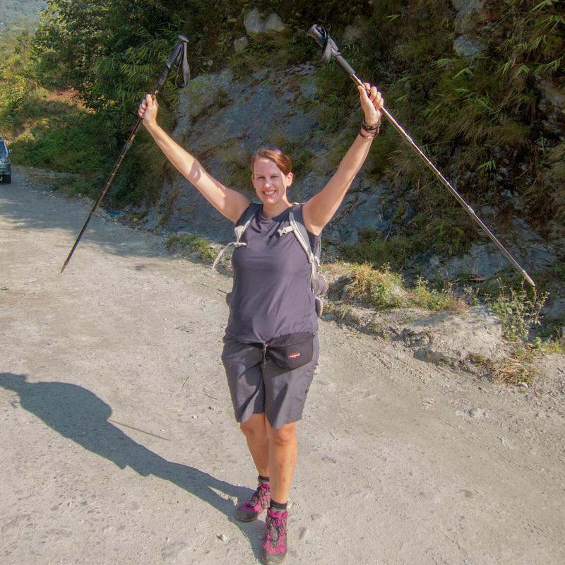 I survived Trekking !