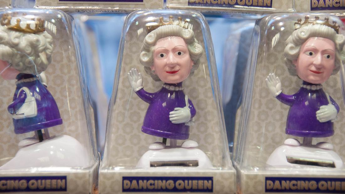Zu Besuch bei der Queen
