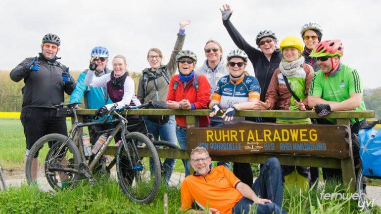 Die Hälfte des RuhrtalRadweges ist geschafft!