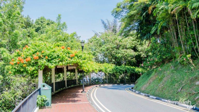 Vom Mt. Faber Park geht es über den Merang Trail zur Harbour Front