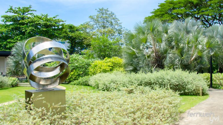 Silver Garden, einer der vielen Themengärten