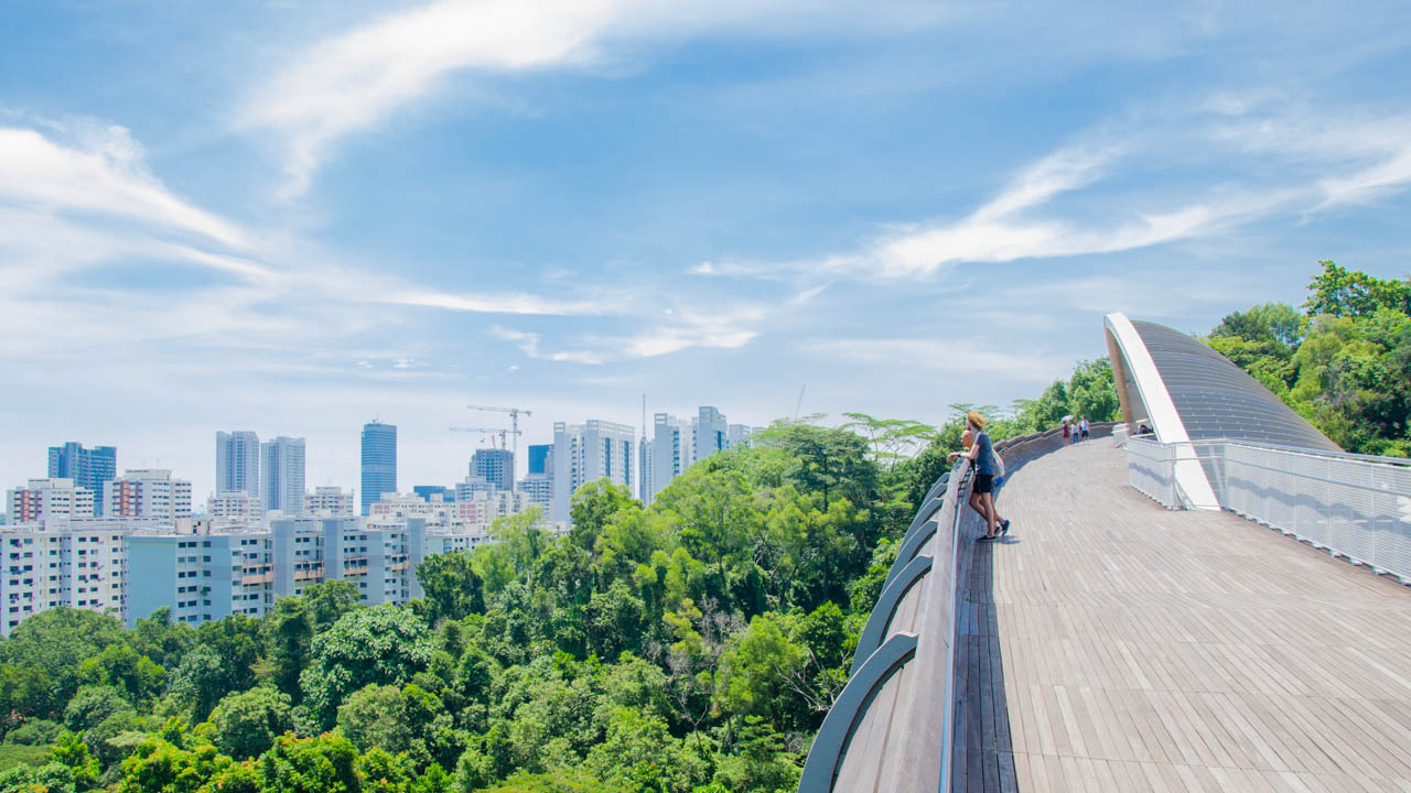 Wandern in Singapur - Southern Ridges