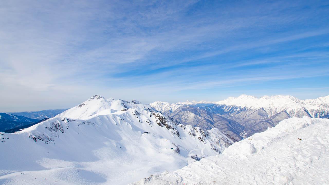 Berge Kaukasus