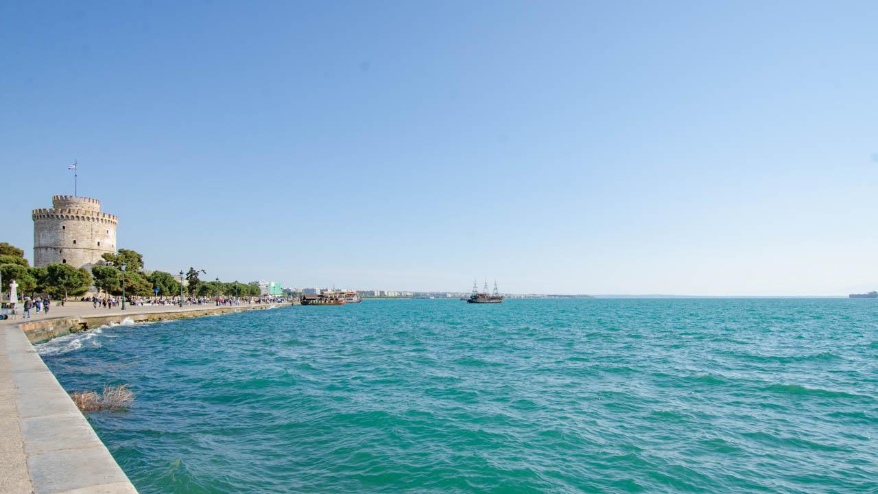 Thessaloniki Hafen