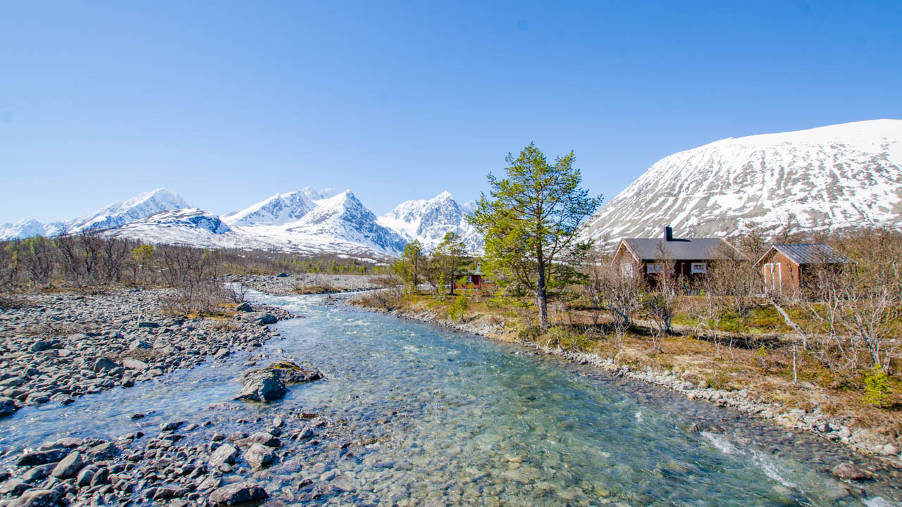Norwegen-Lyngenalpen-Wandern