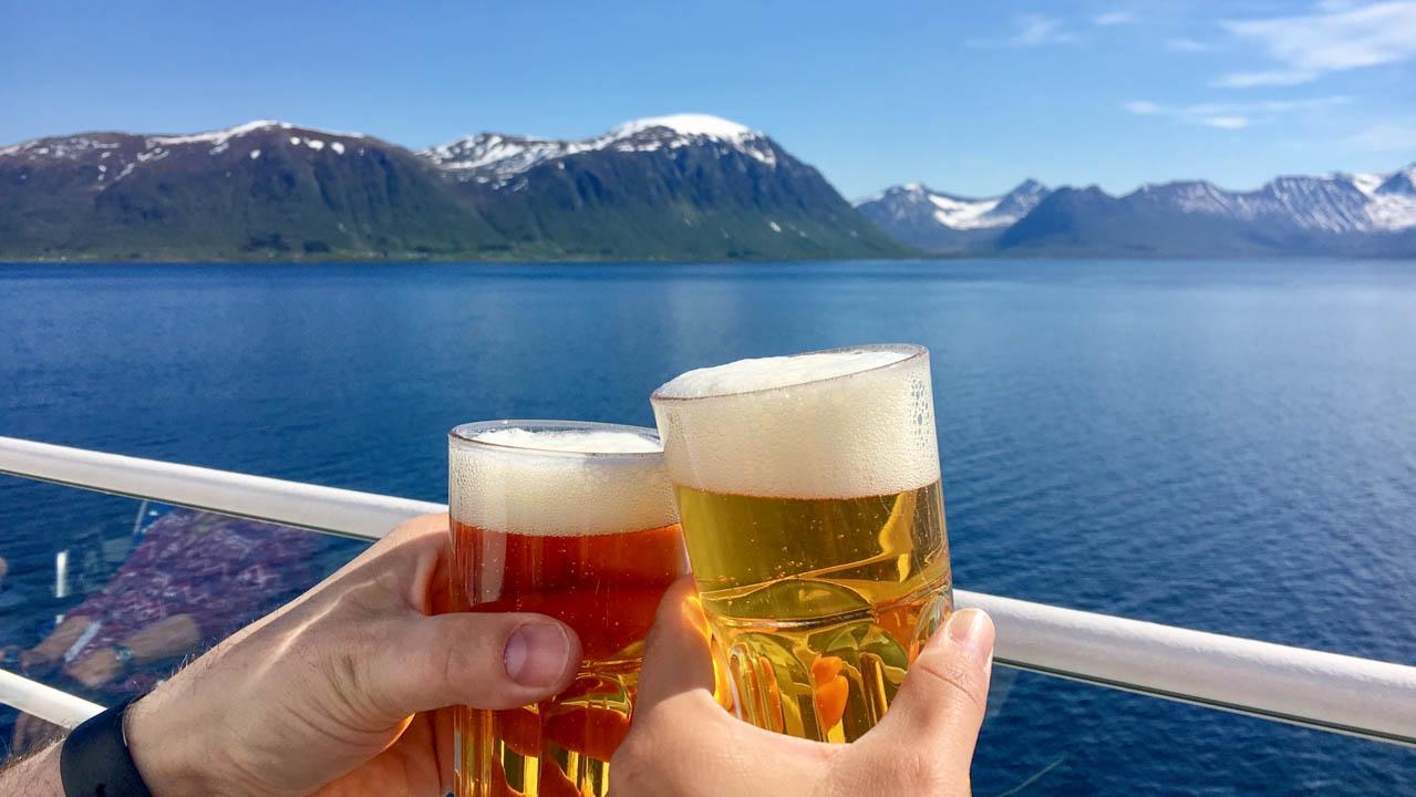 Fump mit Bier
