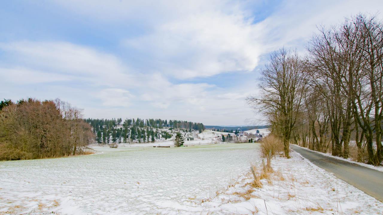 Rothaarsteig Winter