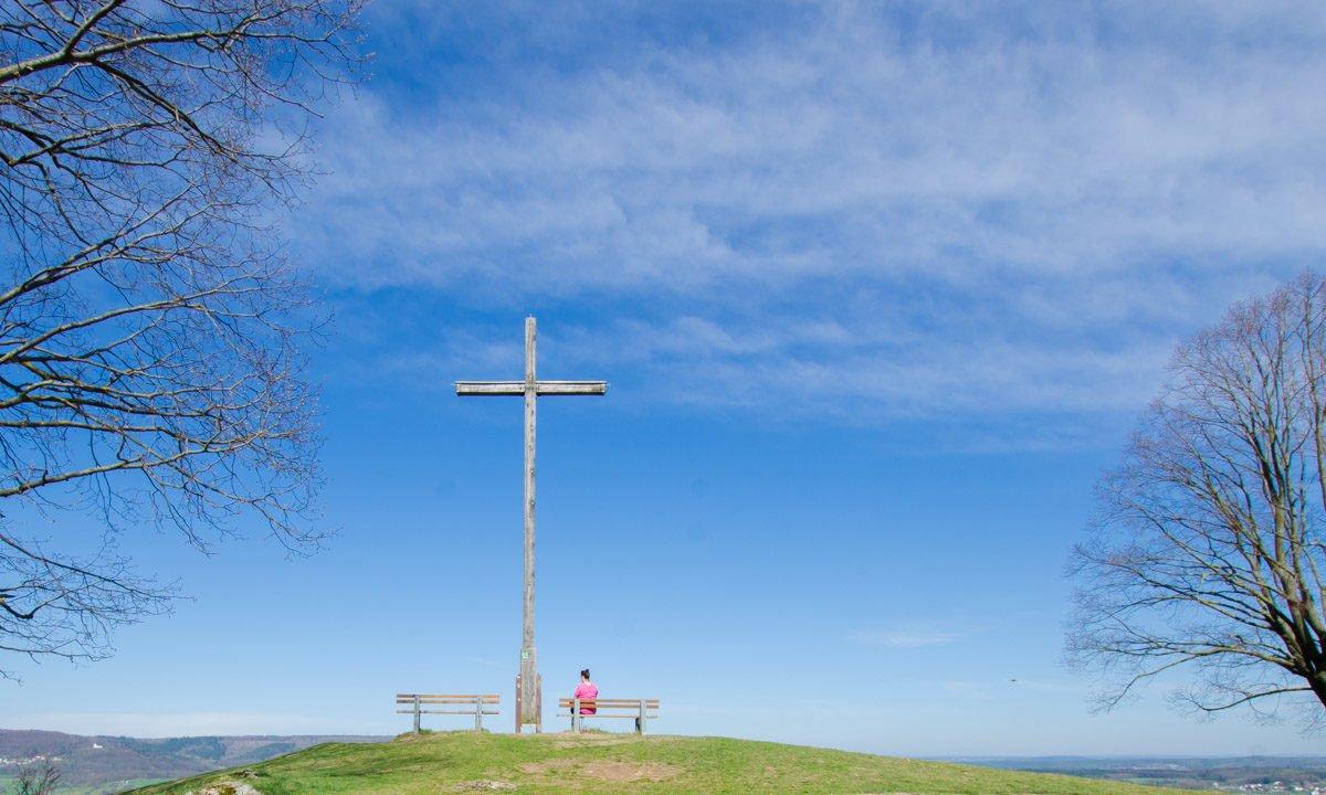 Gipfelkreuz Walberla