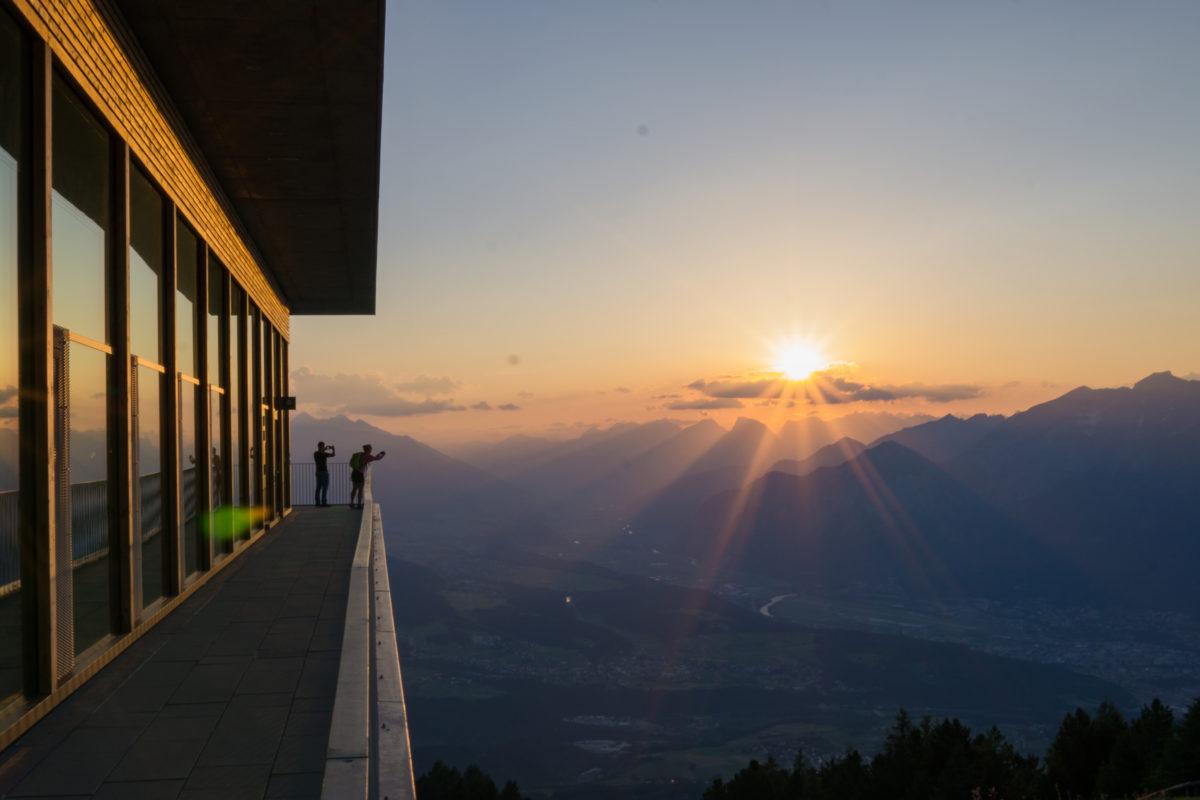 Ein fantastischer Abschluss unserer Wanderung auf dem Innsbruck Trek
