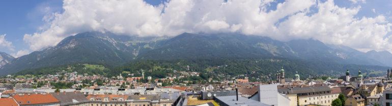 Panoramaaufnahme von der Terrasse des Café Lichtblick 360°